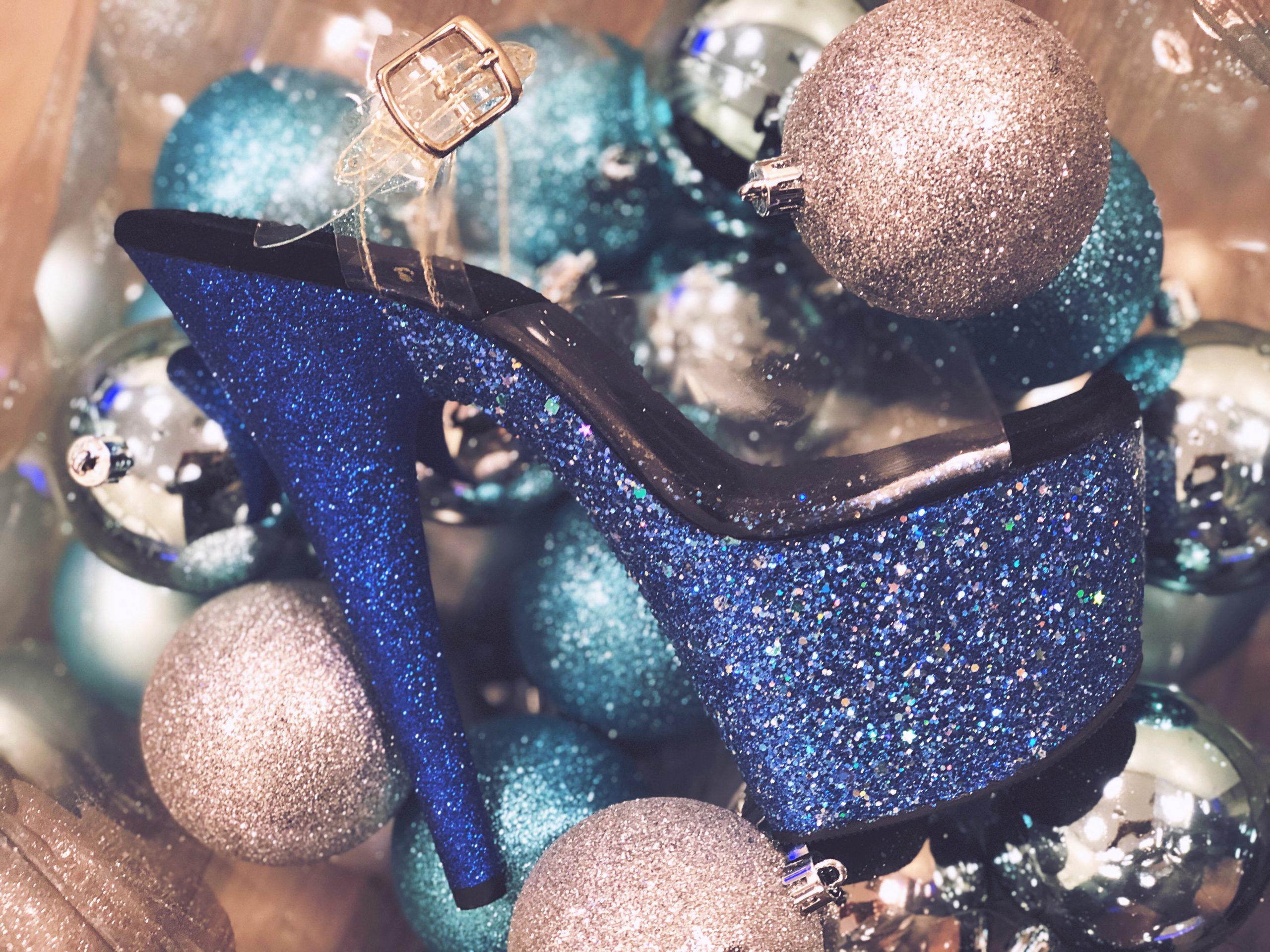 Nightshade Designs Glitter Heels